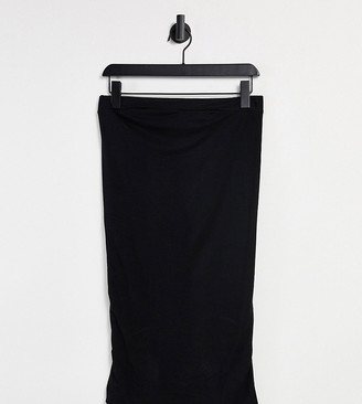 Flounce London Maternity Flounce Maternity jersey pencil skirt in black