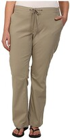 Columbia Plus Size Anytime Outdoortm Boot Cut Pant (Tusk) Women's Casual Pants