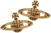 Vivienne Westwood Mini Bas Relief Earrings Gold