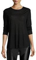 Koral Activewear Prime Long-Sleeve Performance Tee, Black