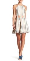 Tularosa Helix Stripe Cutout Dress