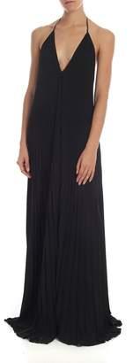 Dondup Long Pleated Dress