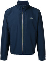 Lacoste logo patch windbreaker jacket - men - Polyamide/Polyester - S