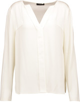 Belstaff Nayland crepe blouse
