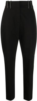 Brunello Cucinelli High-Waisted Wide-Leg Trousers