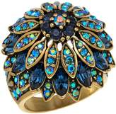"""Heidi Daus Marquee Madness"""" Crystal Ring"""