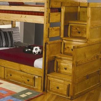Wildon Home San Bernardino 4 Drawer Combo Dresser