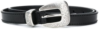 Kate Cate Thin Leather Belt