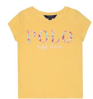 Polo Ralph Lauren Kids Logo-embroidered cotton T-shirt