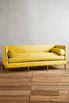 Anthropologie Linen Harper Sofa