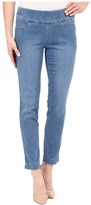 """Miraclebody Jeans Andie 28"""" Ankle Pull-On Jeans in Tabago Blue"""