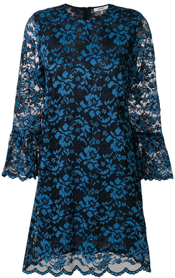 Ganni lace dress