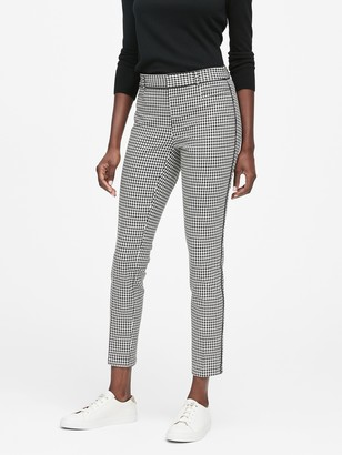 Banana Republic Petite Modern Sloan Skinny-Fit Washable Pant with Piping