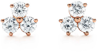 Tiffany & Co. Aria earrings in 18ct rose gold with diamonds