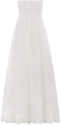 Chi Chi Bridal 3D Floral Bandeau Maxi Dress