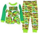 AME Sleepwear Teenage Mutant Ninja Turtles Little Boys Long Sleeve Cotton Pajama Set