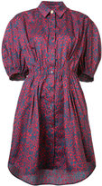 Sonia Rykiel floral print shirt dress