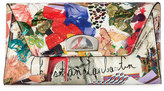 Christian Louboutin Vero Dodat Flap Trash-Print Patent Clutch Bag, Multi