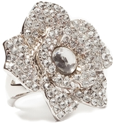 The Limited Large Crystal-Flower Ring