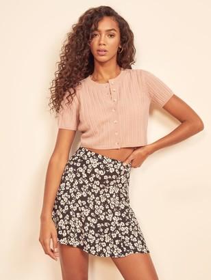 Reformation Flounce Skirt