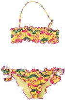 MC2 Saint Barth Flamingo Print Lycra Bikini A Fascia
