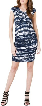 Ripe Rockpool Cross Yr Heart Dress Navy