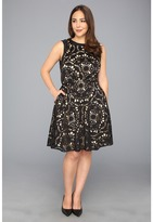 Muse Lazer Cut Faux Leather Girlie Dress (Black) - Apparel