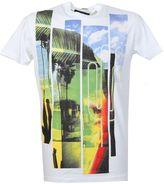 DSQUARED2 Printed White Cotton T-shirt