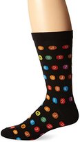 Ozone Men's MTA Subway Route Symbols Sock