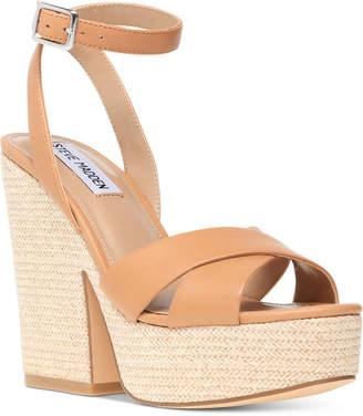 Steve Madden Women Jina Platform Wedge Sandals