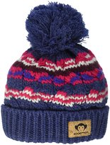 Appaman Fluff Hat (Inf/Kid) - Navy Heather - L (5-7Y)
