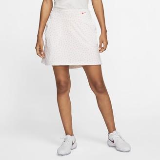 "Nike Women's 17"" Printed Golf Skirt Dri-FIT UV Victory"