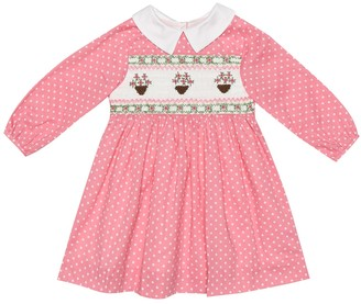 Rachel Riley Baby cotton dress and bloomers set