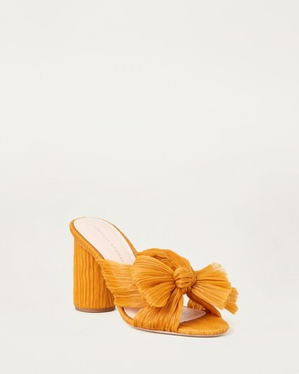 Loeffler Randall Penny Bow Heel Marigold