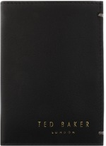 Ted Baker Zacks Small Bifold Leather Wallet Black