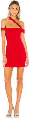 superdown Linda Asymmetric Bodycon Dress