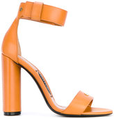 Tom Ford ankle strap sandals - women - Calf Leather/Leather/Brass - 37.5