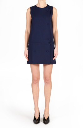 Stella McCartney Mina Stretch Wool Minidress