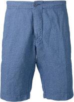 Aspesi chambray shorts - men - Cotton/Linen/Flax - 48