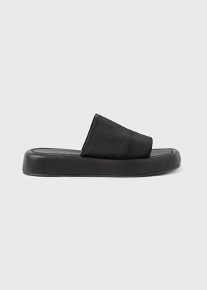 Loeffler Randall Deryn Stretch Nylon Flatform Sandals