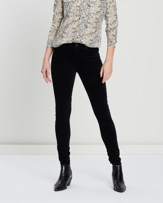AG Jeans Farrah Velvet Jeans