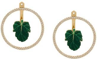 Nevernot Court leaves earrings