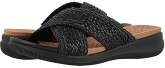 SoftWalk Tillman (Black Braided) Women's Shoes