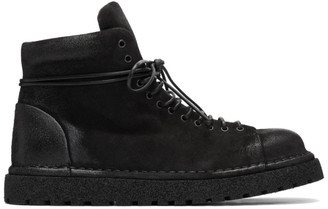 Marsèll Black Gomme Boots
