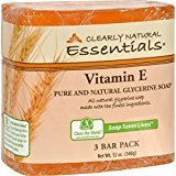 Clearly Natural Bar Soap Glyc Vit E 3Pk 3/4 Oz