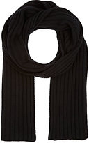 Barneys New York MEN'S RIB-KNIT WOOL-BLEND SCARF