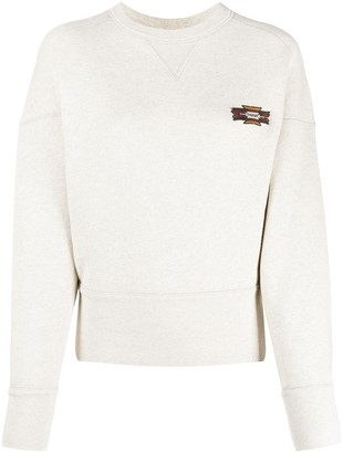 Etoile Isabel Marant Structured Logo Patch Jumper