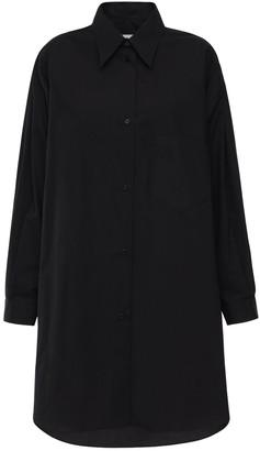 MM6 MAISON MARGIELA Over Cotton Poplin Shirt Dress