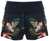 Andrea Bogosian embroidered track shorts