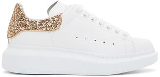 Alexander McQueen Gold Women's Sneakers